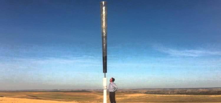 Turbina eólica sem hélices promete ser mais eficiente, barata e segura