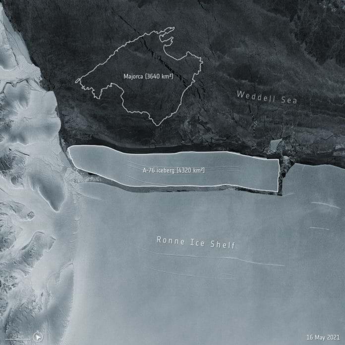 Conheça o maior iceberg do mundo
