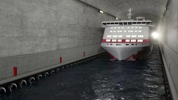 Primeiro túnel de navios do mundo será construído ano que vem na Noruega