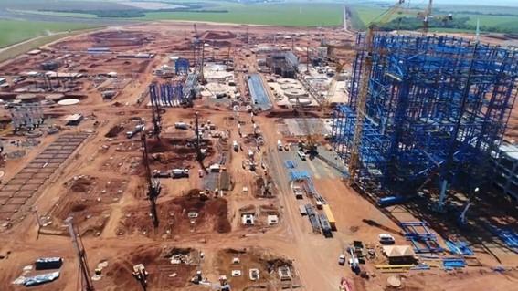 Fábricas de celulose em construção em São Paulo será uma das maiores do mundo