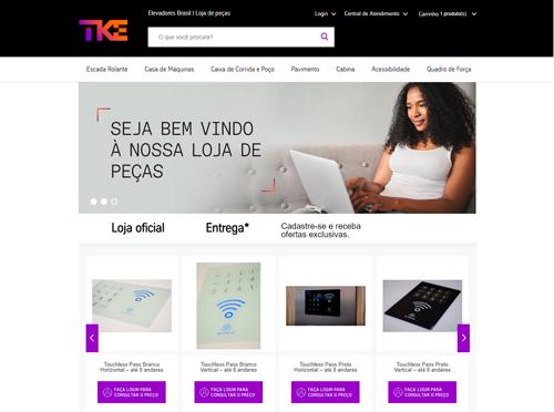 TK Elevator reposiciona e-commerce B2B para alavancar vendas diretas aos condomínios