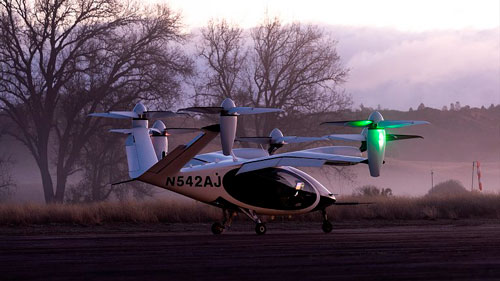 NASA começa a testar aviões VTOL elétricos