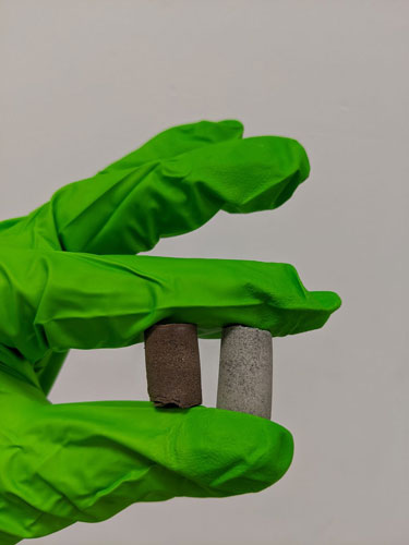 Cientistas criam concreto resistente a partir de poeira espacial e sangue