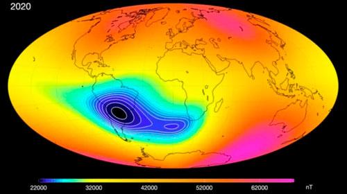 Terra tem anomalia no campo magnético e preocupa cientistas