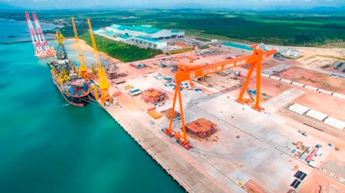 Estaleiro Jurong venceu a concorrência para a construção do navio da Marinha