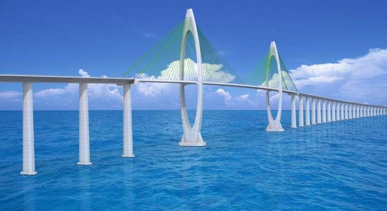 Bahia assina contrato de R$ 7,7 bilhões da ponte Salvador-Itaparica nesta 5ª