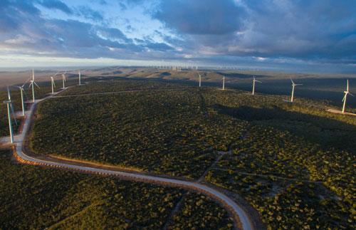 Brasil terá cerca de 24,2 GW de capacidade eólica instalada até 2024