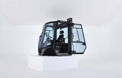 Cabines que proporcionam maior visibilidade e segurança para as operações