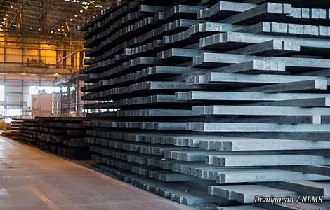 NLMK amplia estoques no Brasil e América Latina e investe R$ 944 milhões em fábrica na Bélgica