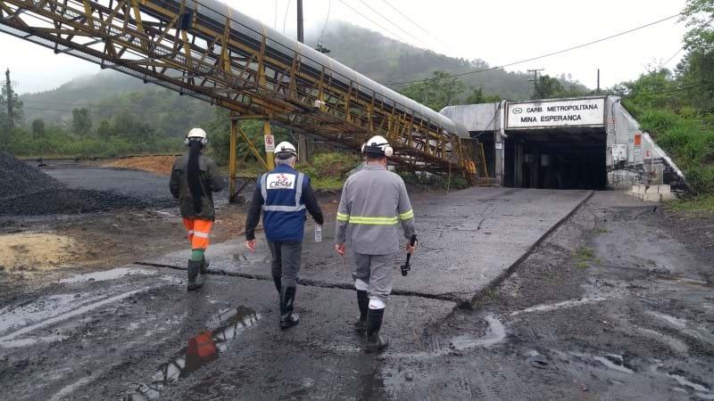 Instrução técnica sobre aterramento em minas de carvão é desenvolvido pela UniSatc