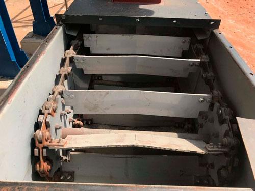 Transportador de corrente tipo redler fabricado com aço da SSAB®