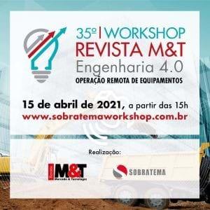 Workshop avaliará o estágio atual da operação remota de equipamentos no Brasil