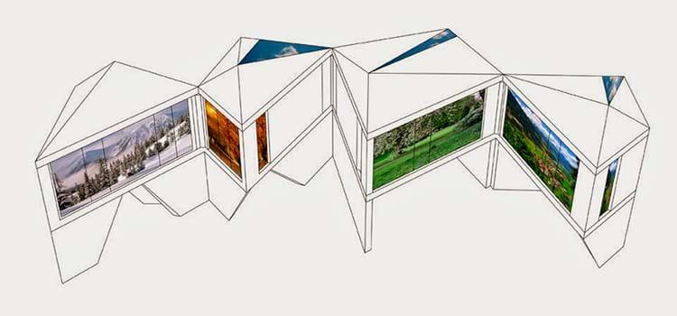 Origami arquitetônico: conheça a tendência das casas dobráveis