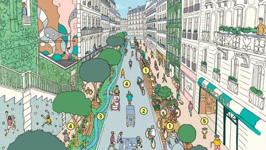 """Uma utopia para pedestres: a """"cidades de 15 minutos"""""""