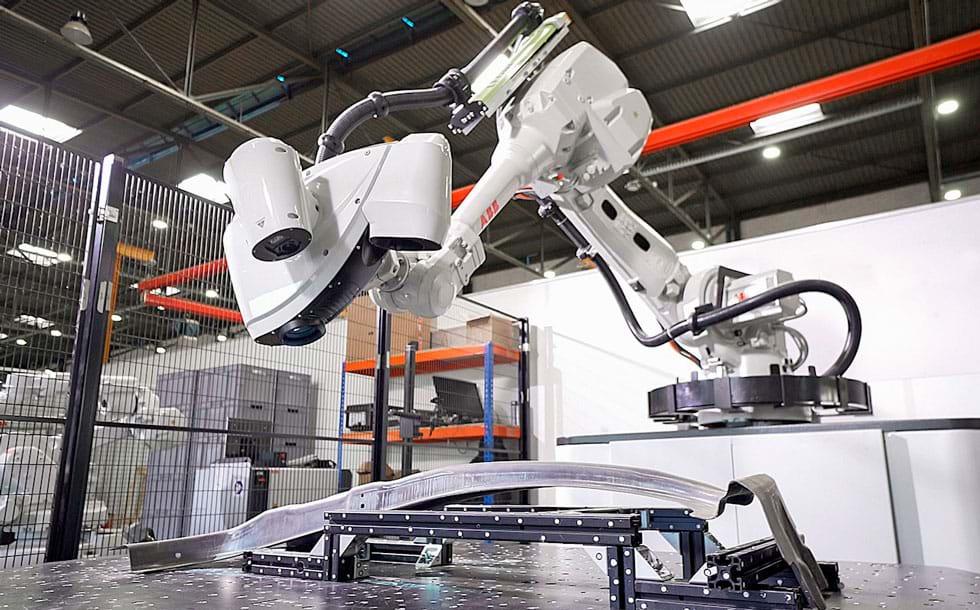 ABB lança célula robótica para inspeção de qualidade em 3D