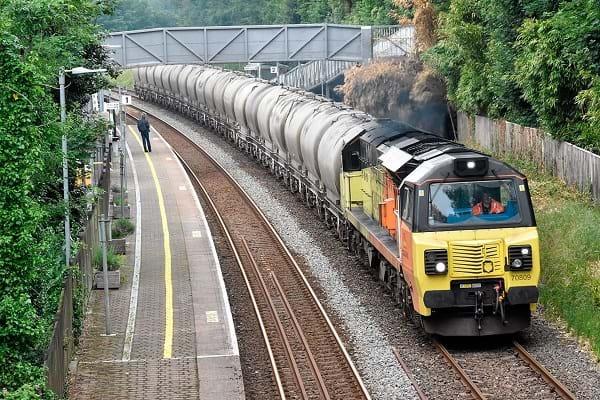 Transportar cimento em trem é tendência mundial